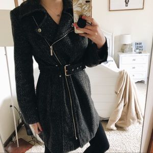 MICHAEL Michael Kors | Asymmetrical Belted Coat